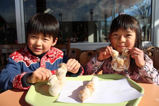パンの成型&パン焼き体験