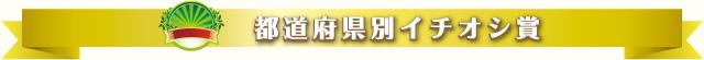 都道府県別イチオシ賞